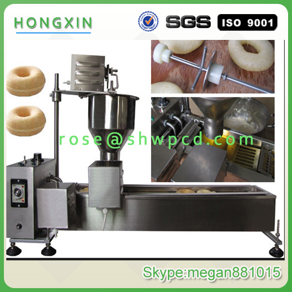 Automatic donut machine/industial donught making machine/commerical mini donut fryer machine