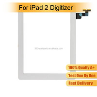 Top quality grade AAA for ipad 2 touch screen digitizer glass, touch screen for ipad 2, for ipad 2 screen digitizer