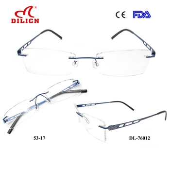 7ebeb22ced8 OEM rimless pure titanium optical titan eyewear eyeglasses frames wholesale