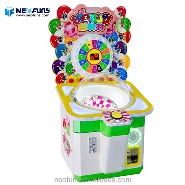 Muntautomaat lollipop game machine snoepautomaat candy bar automaat