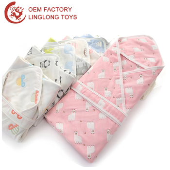 Custom Sets Winter Infant Newborn Baby Blanket Quilt Swaddle Wrap