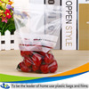 Factory offer custom printed plastic ziplock bubble bag storage mango protection bag