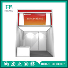Clothespin Clip Clap Silver Aluminum Extrusion Trade Show Booth with Golden Supplier