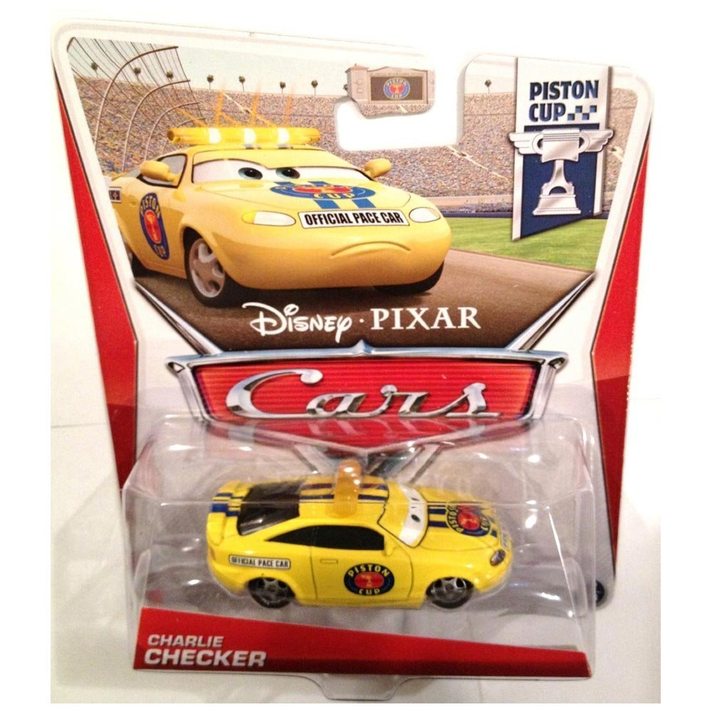 Buy Disney Pixar Cars Piston Cup Die Cast Charlie Checker 1 55