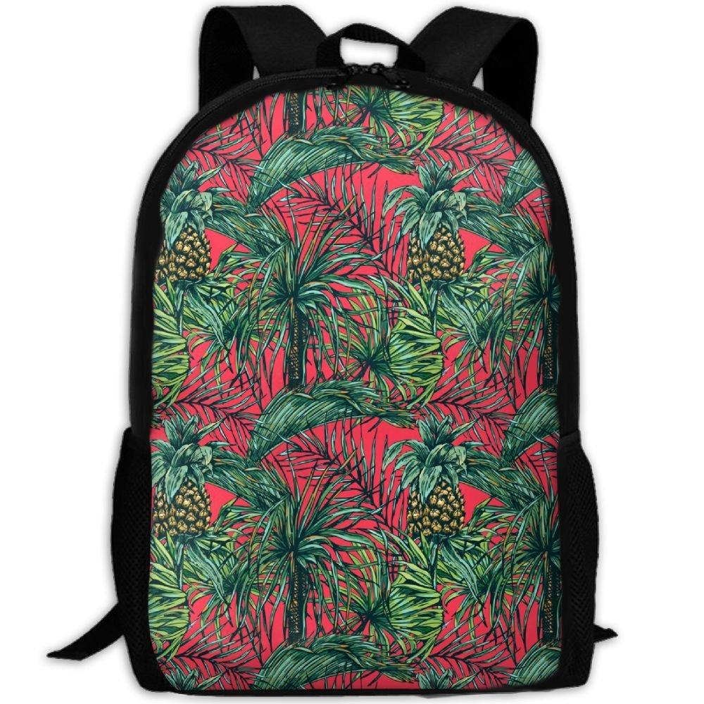 b12cd86c189 Get Quotations · YesFutureIs Female School Bags Funny Pineapple Tree Bookbag  For Teenage Zipper College Bookbag