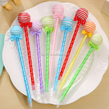 Lollipop pattern ballpoint ball creative pen for gift student plastice pen