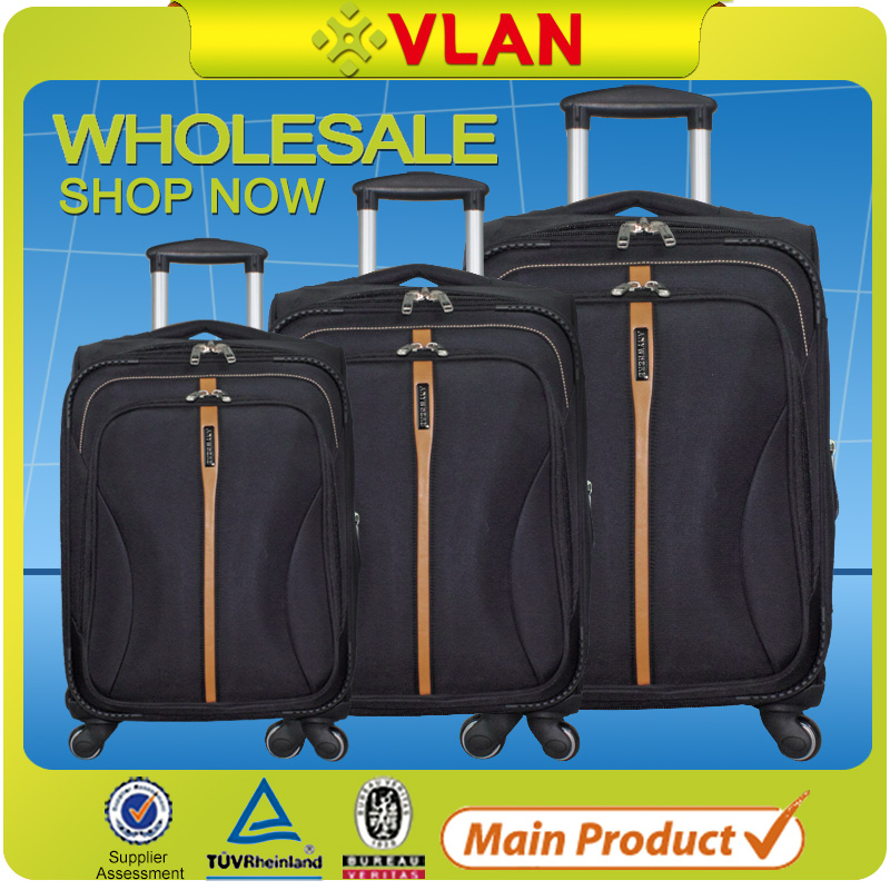 2016 carry on royal polo luggage trolley case made in guangzhou