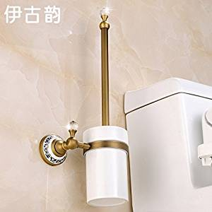 Buy Continental Bathroom Toilet Brush Glass Holderbathroom Hardware - Where to buy bathroom hardware
