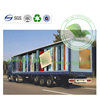 UV Printed PVC Coated Double-weave Tarp Curtain For Truck Body