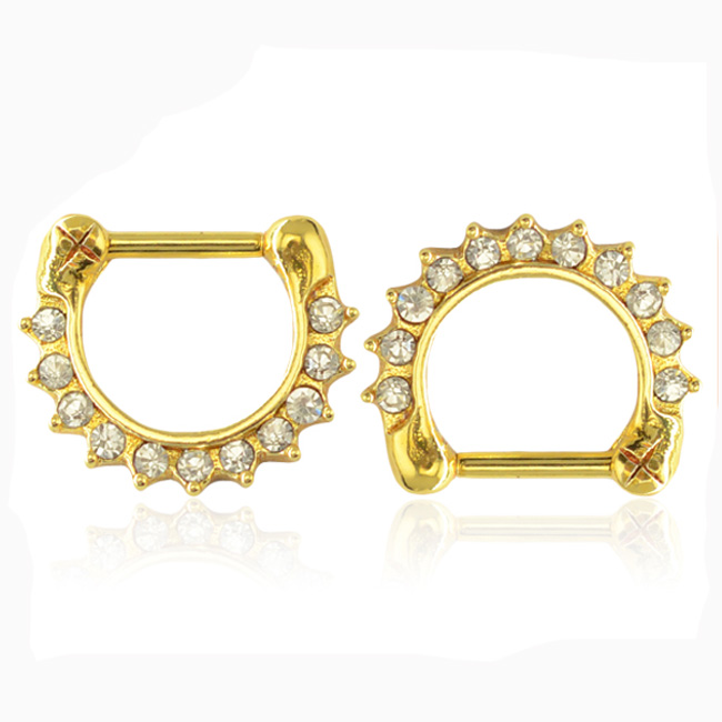 Non Piercing Nose Ring Indian Style Nose Piercing Gold Nose