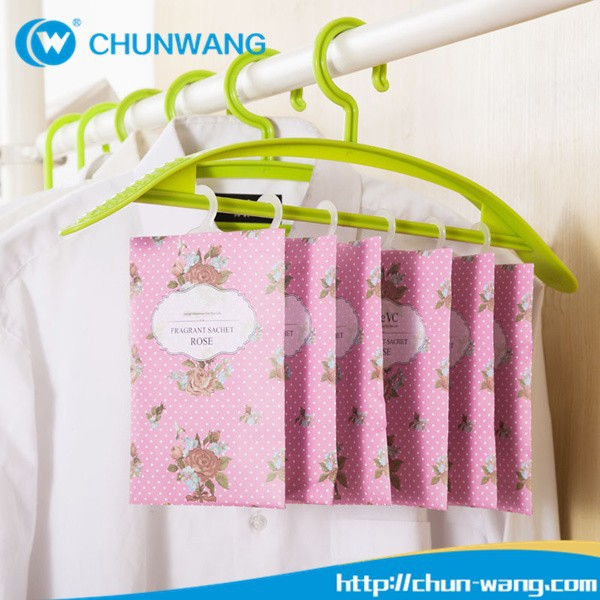 Promotional Logo Printed 20g,30g Hanging Clothes Air Freshener ...