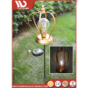 New Premium Innovative Product Garden Decoration Metal Stake Solar Led Light