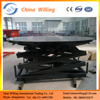 Hydraulic portable stage platform lift/hydraulic Lifting revolving stage