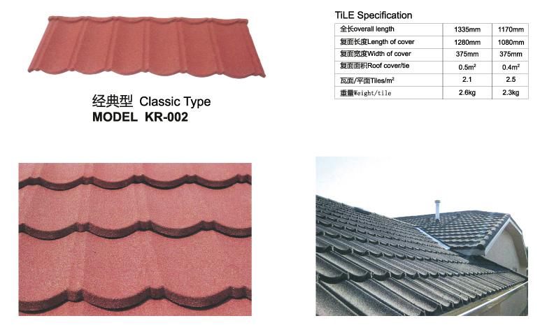 side flashing terracotta stone coated metal roof tiles - Terra Cotta Tile Canopy 2015