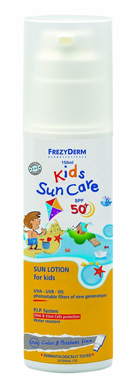 FrezyDerm Children's Sunscreen Lotion - Face & Body SPF50+