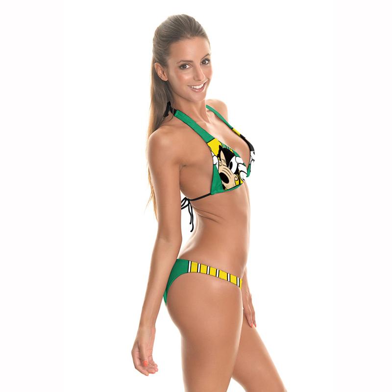 56487e2c40 Latest popular beach wear backless beachwear 2pcs style women's swimwear