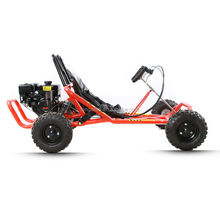 196cc gas Mini Go kart with roll cage ,hydraulic disc brake ,pull start /electric start