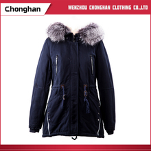Chonghan 2017 Latest Fashion Designs Oem Service Winter Coats For Women