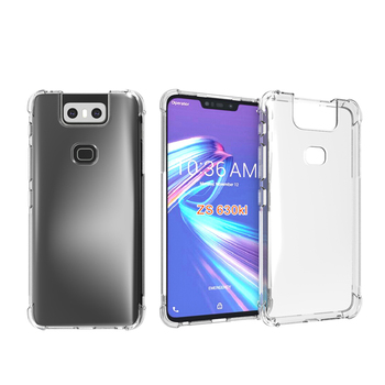 Clear Soft Gel TPU Case For Asus Zenfone 6 2019 ZS630KL 6Z Back Cover