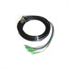 Outdoor Lapis Baja Tahan Air <span class=keywords><strong>Kuncir</strong></span> Patch Cord <span class=keywords><strong>2</strong></span> 4 6 8 12 Core Fiber Optic <span class=keywords><strong>Kuncir</strong></span> dengan Konektor SC
