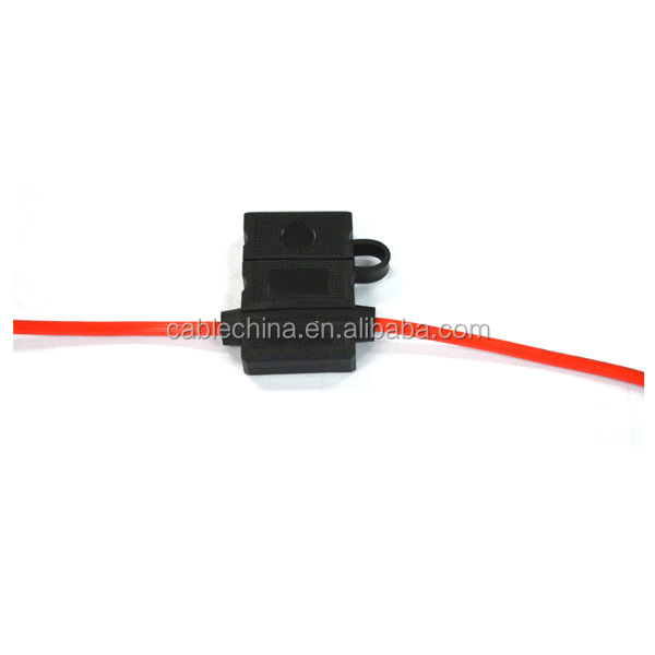 Car blade fuse holder/Wire auto fuseholder/Inline auto fuse box with lower price