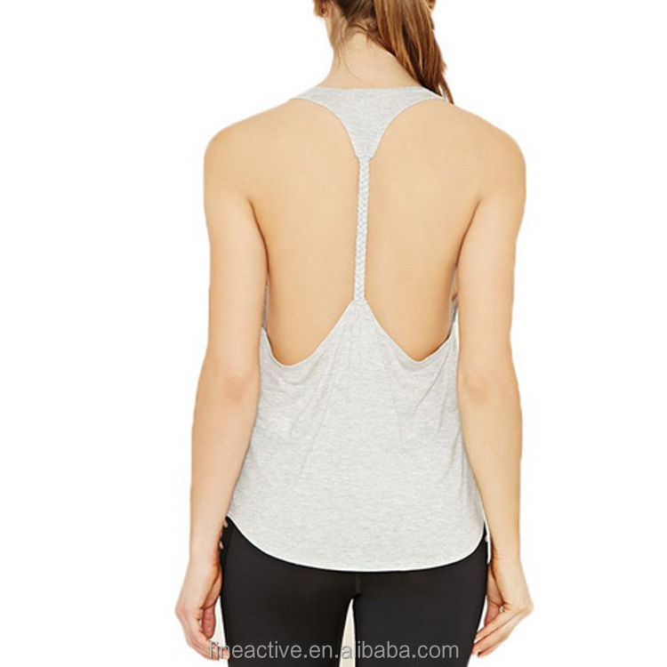 Elegant Quality Low Moq Active Tank top, Sexy Tank top Girls, Blank White Polyester Tank top