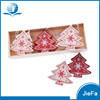 Christmas Tree With Wooden Box 9 Pieces Per Set Christmas Ornaments For Wood Hang Deco
