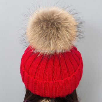 Make Your Own Fur Bobble Hat/cc Beanie Hat With Pompom/wholesale ...