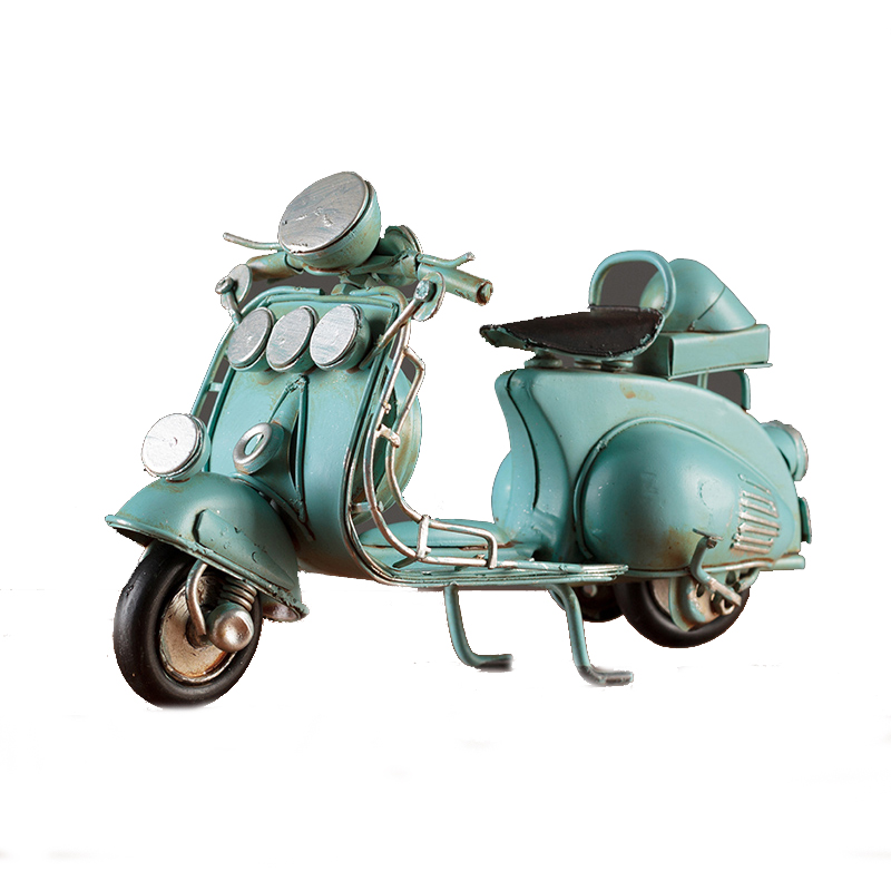 Wholesale 2019 Hot Sales Vintage Decoration Metal Motorcycle Scooter Model For Home
