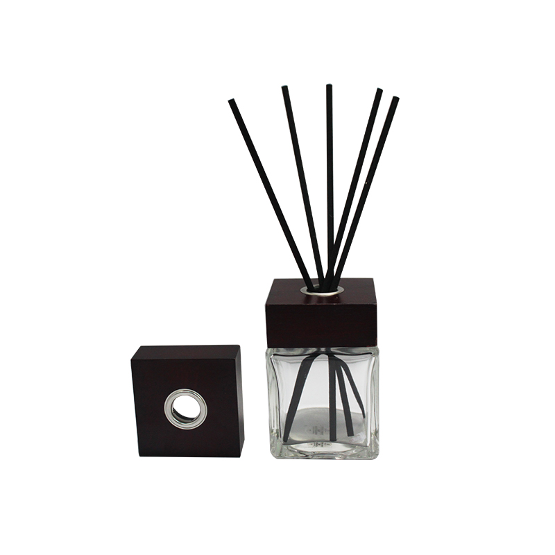 4 mm / 6mm big home fragrance aroma diffus scent black fiber sticks reed diffuser air freshener