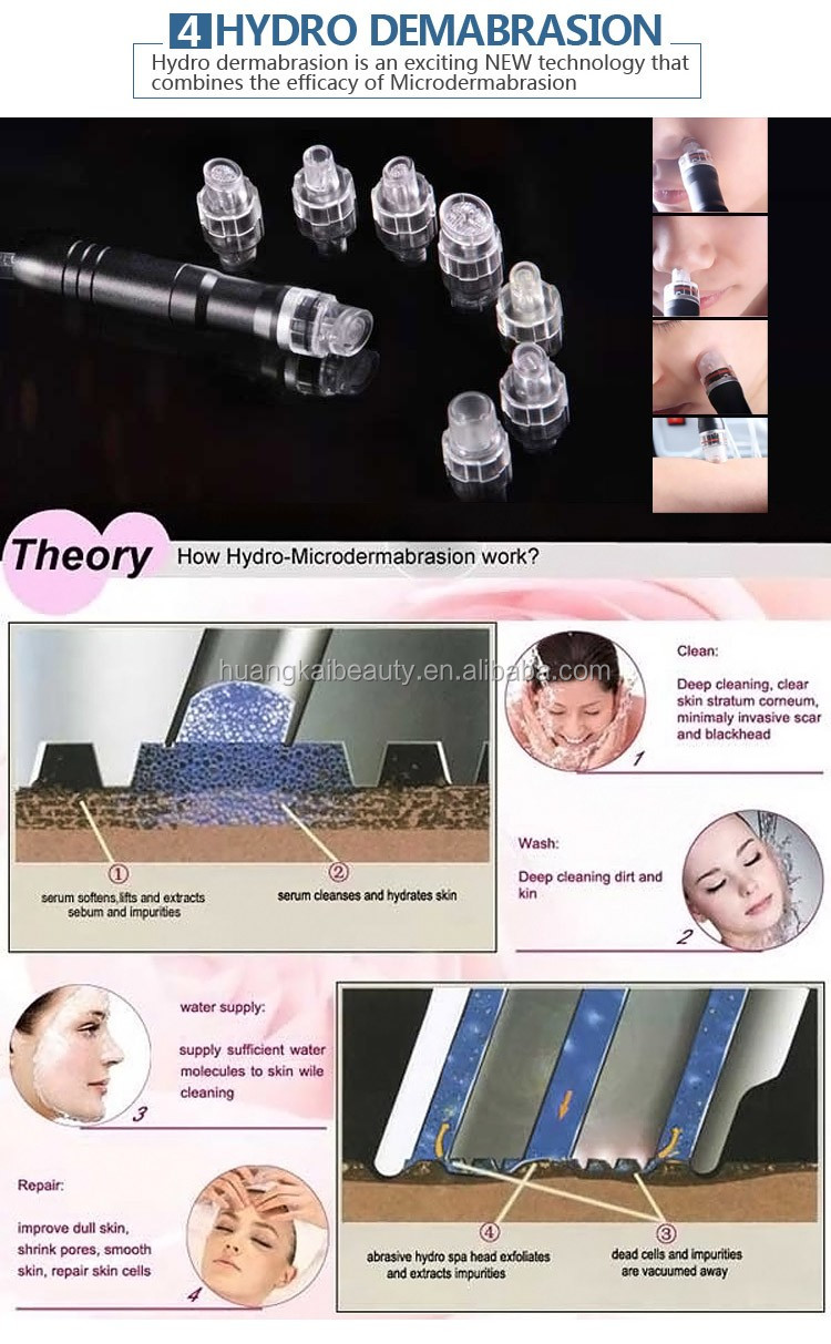 hot sale hydra technology facial care dermabrasion / diamond peel machine for acne removal