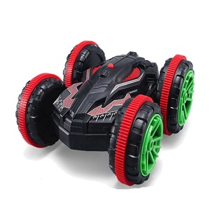 4WD 6CH Stunt Car Rc Off Road Double Side Car 360 Degree Spin And Flip Land And Water