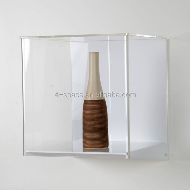 Acrylic Box To Hang On Wall : Wall mounted easy fix display case acrylic plexiglass