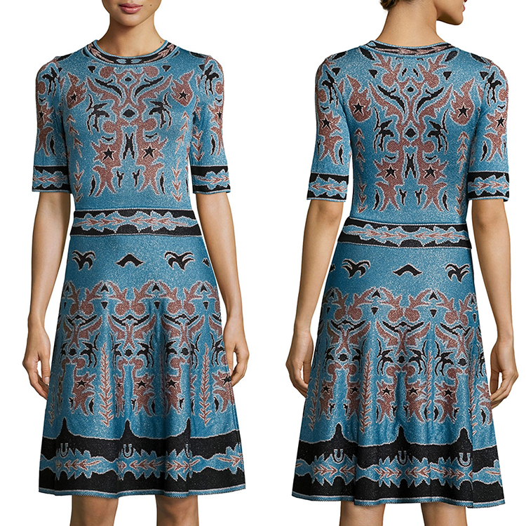 Factory price half sleeves embroidered womans clothes sexy other cheap dresses