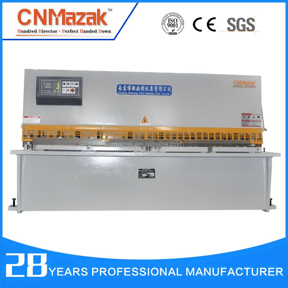 QC12K 3.2m MD11 nc shearing <strong>machine</strong> for metal sheet 10mm shearing <strong>machine</strong>