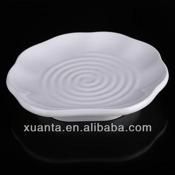 Wave flower melamine restaurant plates & Wave Flower Melamine Restaurant Plates - Buy Flower Melamine Plates ...