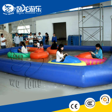 inflatable water play games /inflatable bumper boat for Children and adults