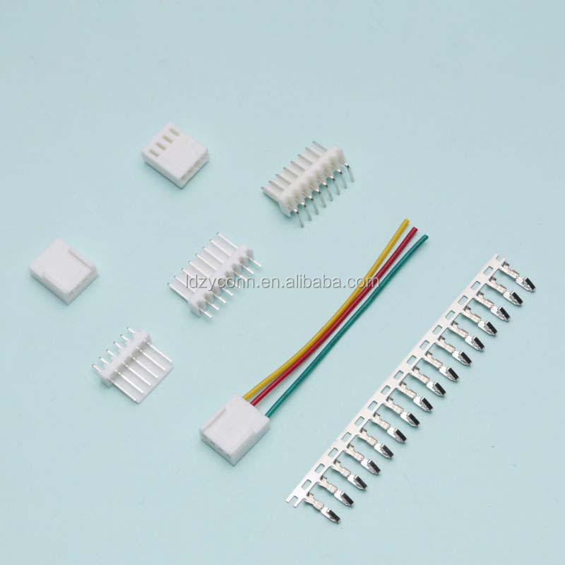 High quality, 8 pin wire to board plastic crimp housing 2.50mm pitch replaces molex 0022011082