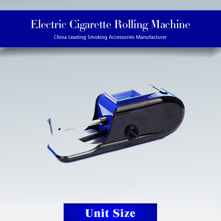 2019 new design commercial tobacco cigarettes making tube filling rapid roller electric automatic cigarette rolling machine