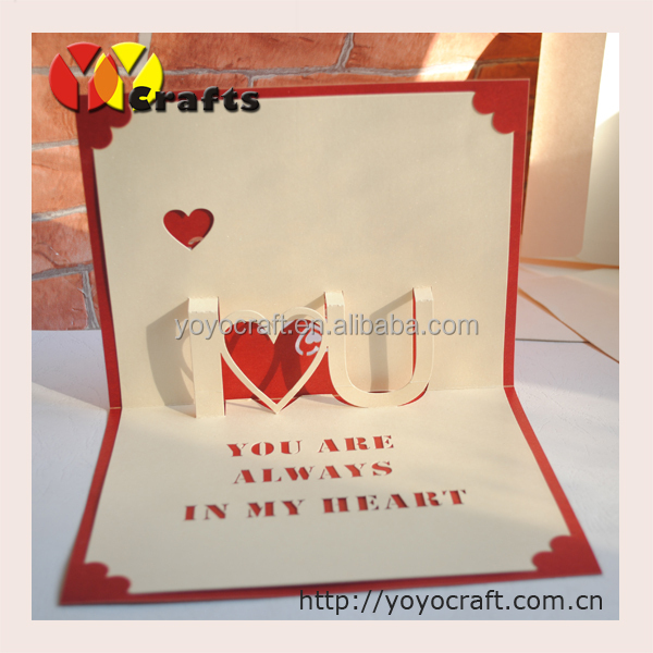 heart shape handmade greeting card, heart shape handmade greeting, Greeting card