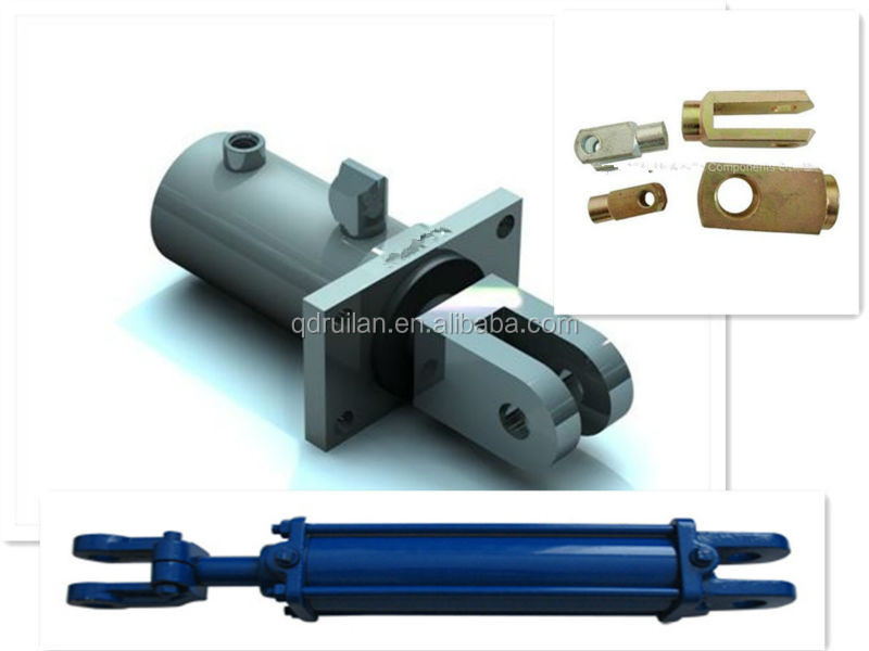 Double Clevis Rod Ends Hydraulic Cylinder