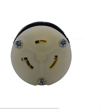 Colored electrical receptacles 20a 480v nema l8-20r receptacle for lighting