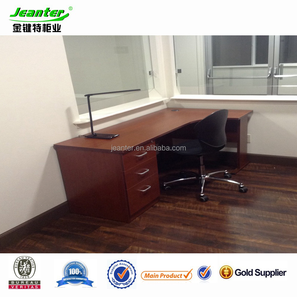 Guangzhou L Shaped Office Desks, Melimine board corner desk
