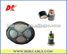 Best Price copper conductor PVC Insulated and PVC Sheathed Armoured 4 Core Copper Cable 75mm 50mm 120mm