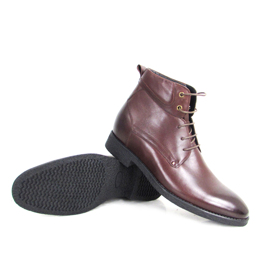 Dress Shoes New Boots Leather Increasing Height Men's Elevator Invisible qtqwSFrEn7