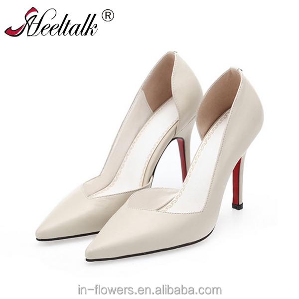 Wholesale manufacturer China heels OEM size high lady shoe large AtrATq