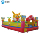 Rabbit paradise bouncy castle with slide kids,inflatable bounce house, inflatable bouncer slide combo for hot sale