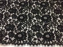 2017 высококачественная одежда, кружевная ткань, сетка для ресниц, кружевная ткань, позиционирование, Цветочная кружевная ткань, оптовая прод...(Китай)