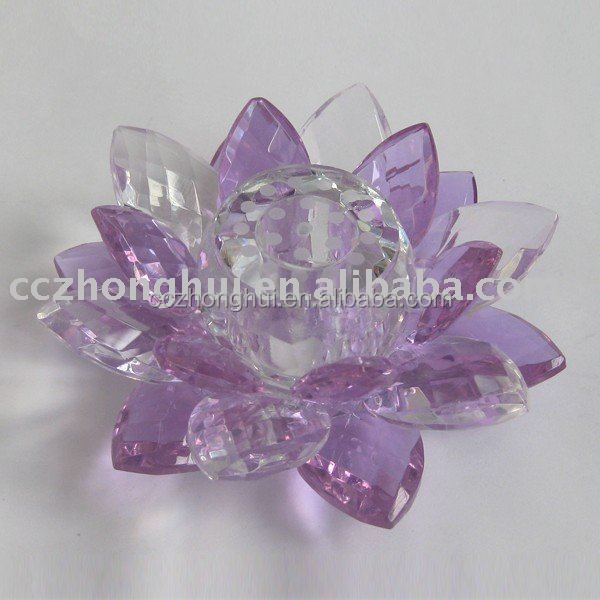 2017 Laser Crystal Flower