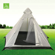 Total quality controled lotus bell tent